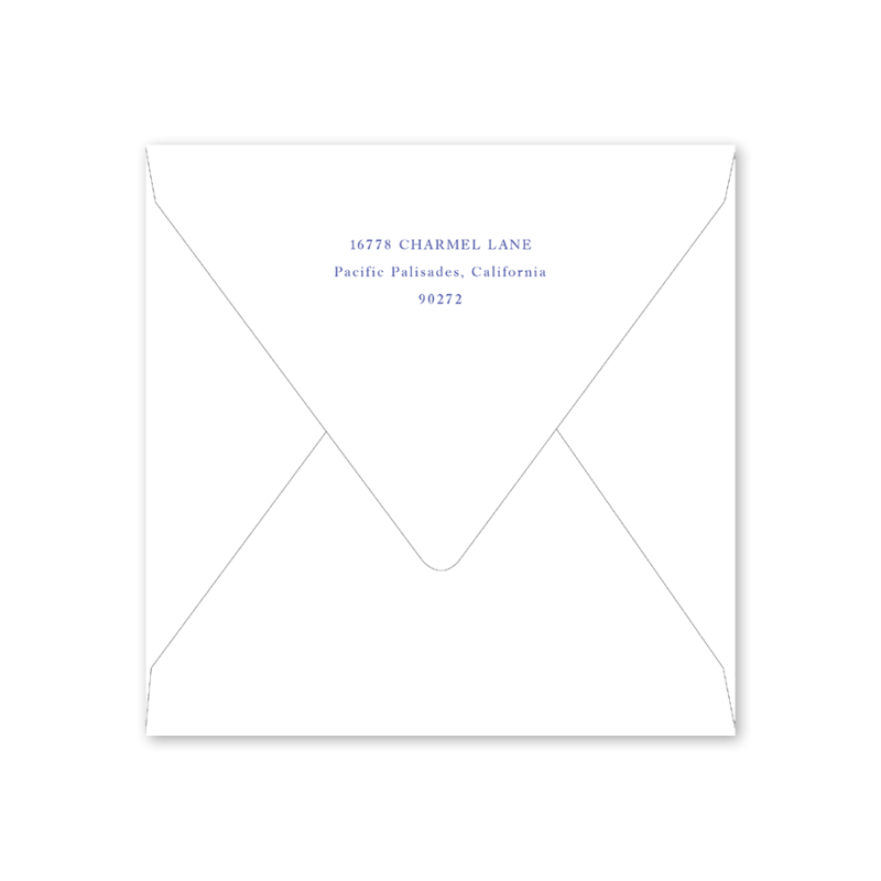 Rosalie Save the Date Envelopes