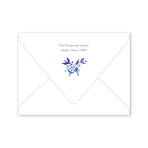 Toile Save the Date Envelopes
