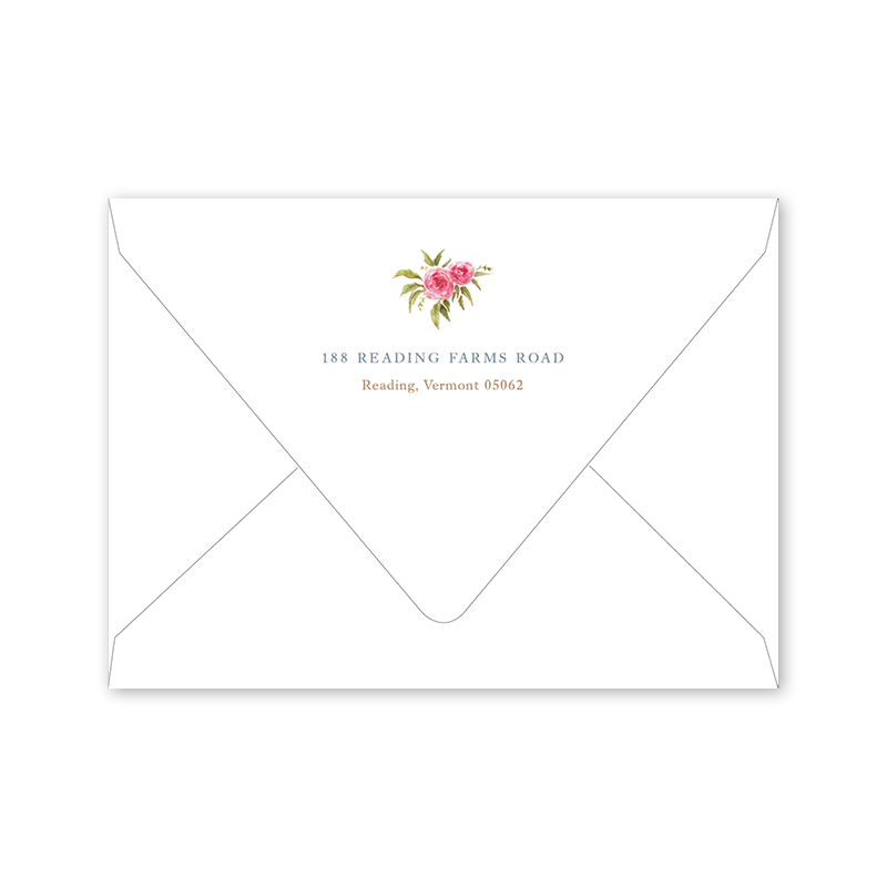 Songbird Save the Date Envelopes