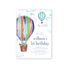 Hot Air Balloon Animals Birthday
