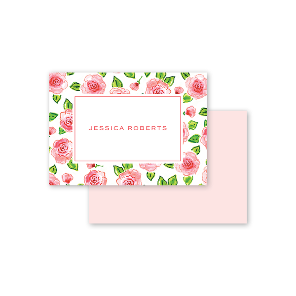 Champagne and Rosé Border Calling Card