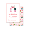 Champagne and Rosé Bubbly Valentine