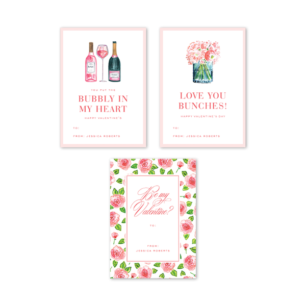 Champagne and Rosé Valentine Multi Set