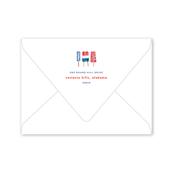All American Summer Party Envelopes
