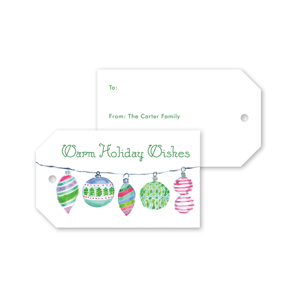 Brite Baubles Gift Tags