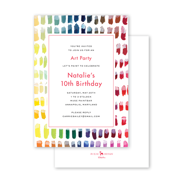 Color Chart Birthday