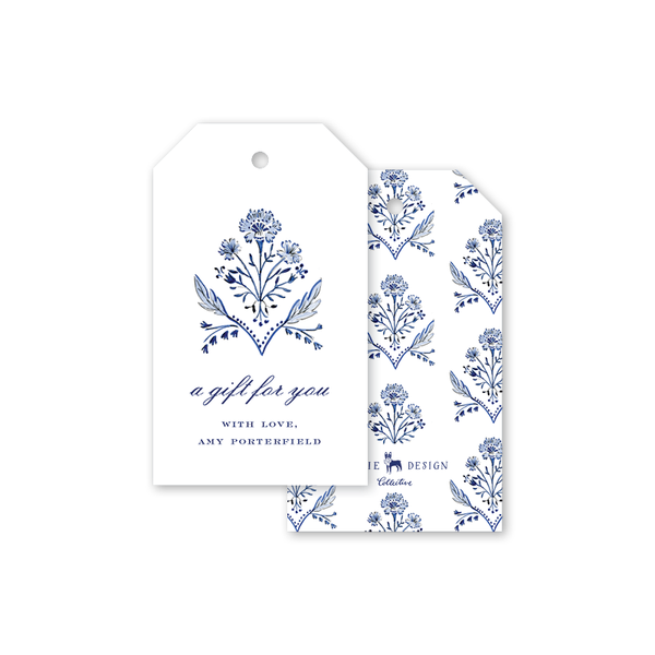 Chinoiserie Wicker Gift Tag