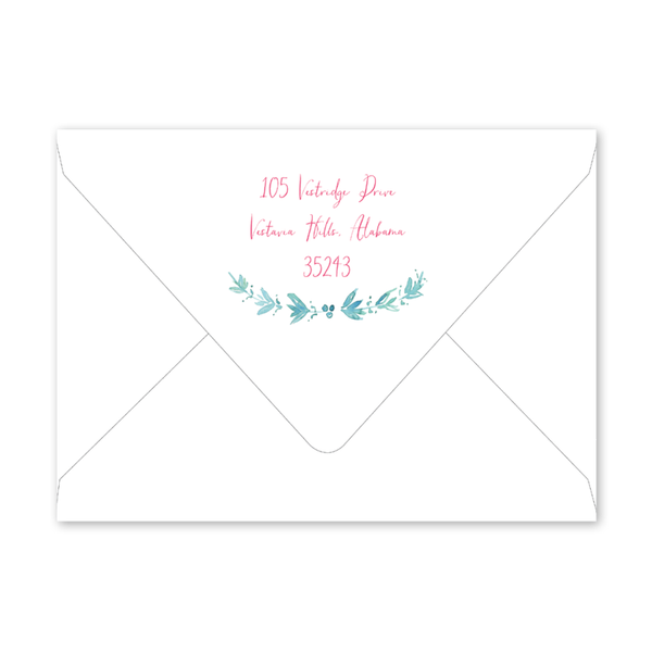Sea Shell Birthday Envelopes