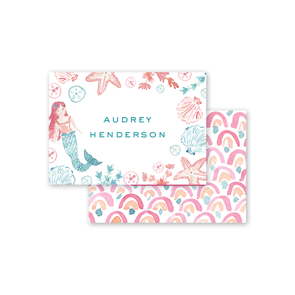 Mermaid Calling Card