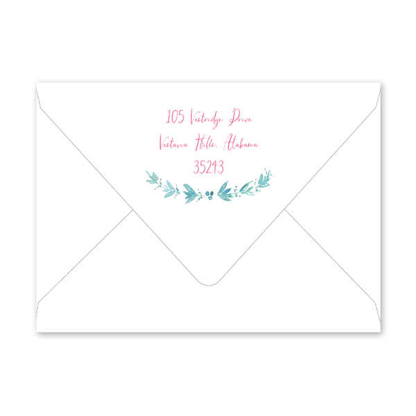 Mermaid Birthday Envelopes