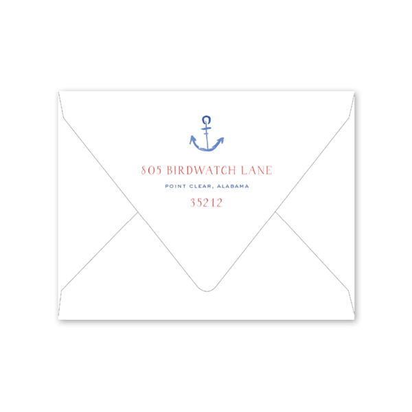 Sailing Notecard Envelopes