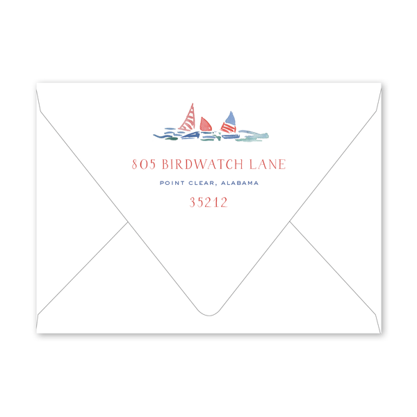 July 4th Barbeque Envelopes
