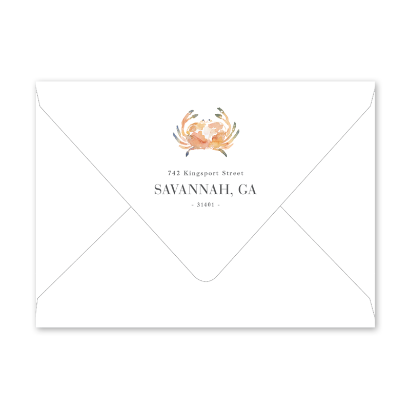 Summer Cookout Dinner/Party Envelopes