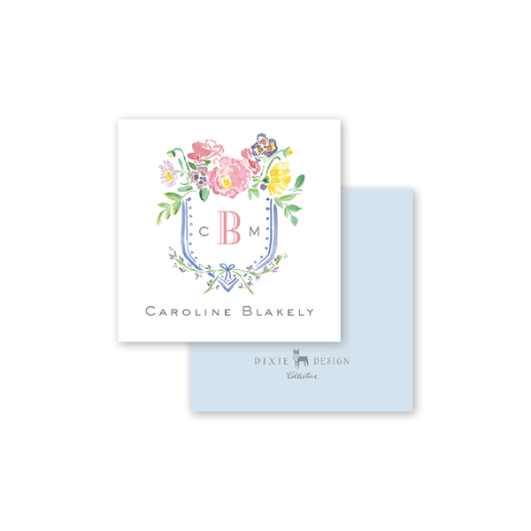 Wildflower Crest Calling Card