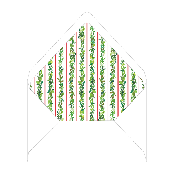 Bay Leaf Border Invitation Liner