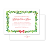 Bay Leaf Border Invitation