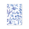 Blue Toile Crest New Year