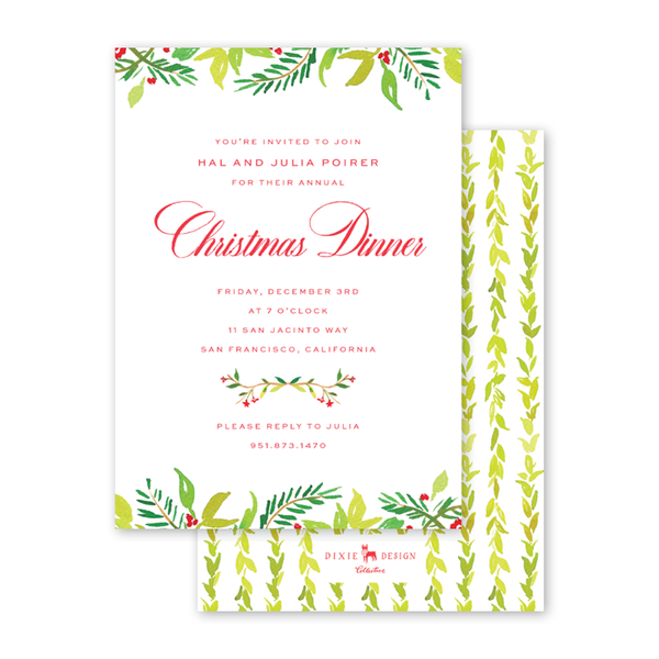 Bright Flora Invitation