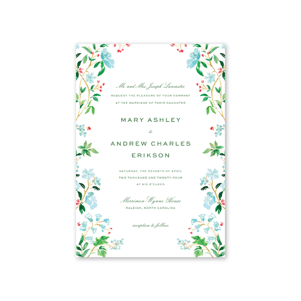 Chintz Wedding Invitation