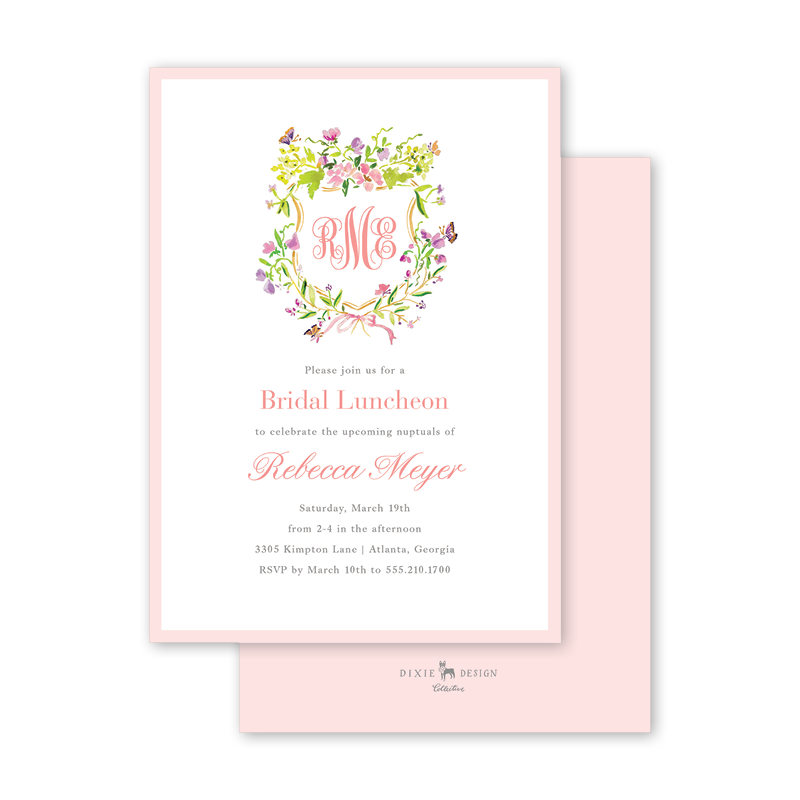 Butterfly Crest Bridal Luncheon