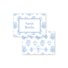 India Block Print Blue Gift Set