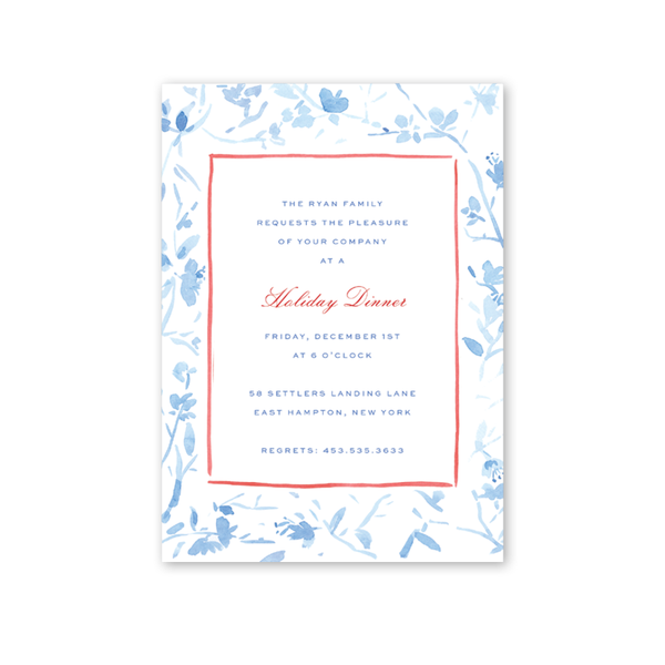 French Chinoiserie Invitation