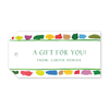 Artist's Palette Gift Tags