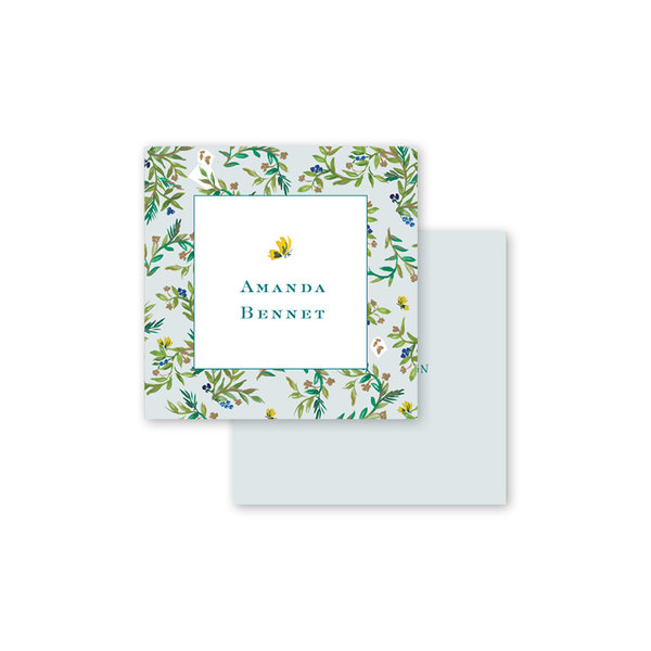Butterfly Garden Border Calling Card