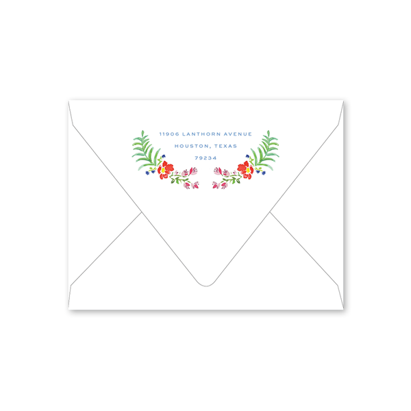 Fiesta Summer Party Envelopes