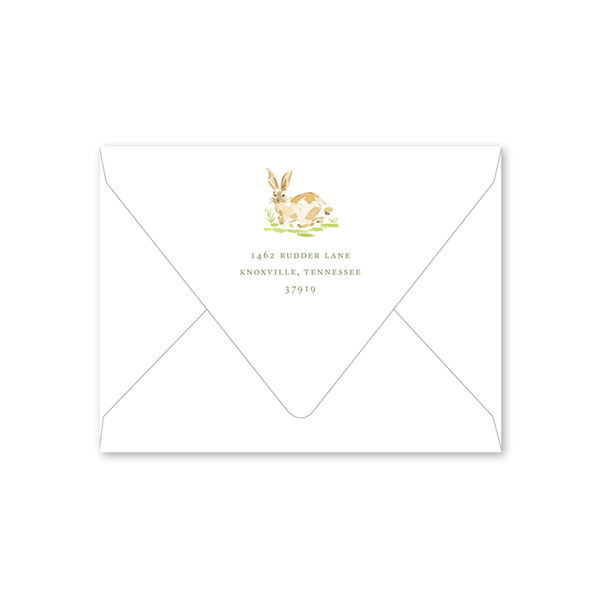 Garden Tales Bunny Birthday Envelopes