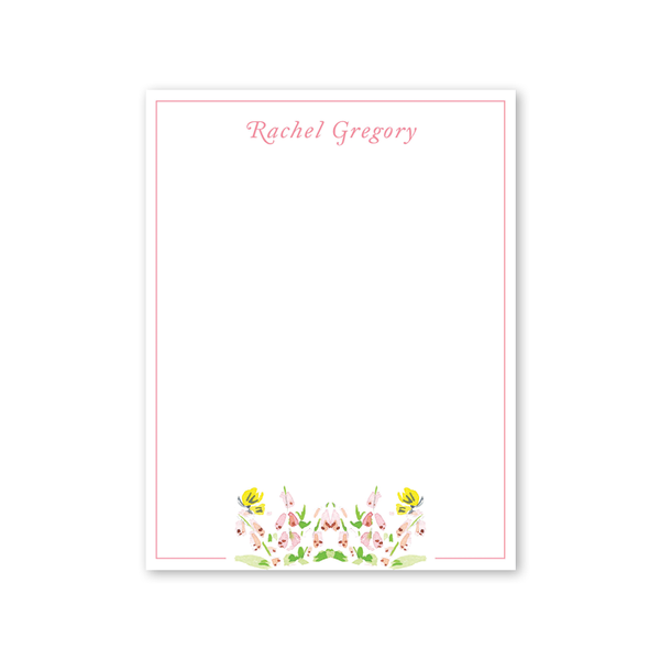 Garden Tales Cake and Flowers Notepad