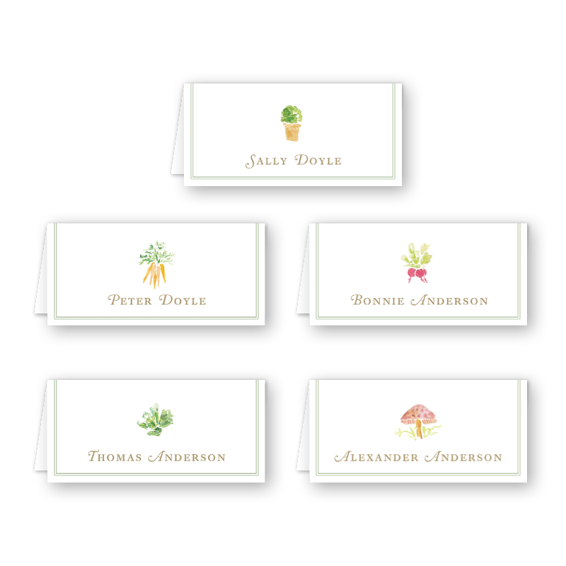 Garden Tales Place Card Set