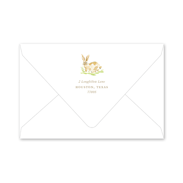 Garden Tales Trellis Birth Announcement Envelopes