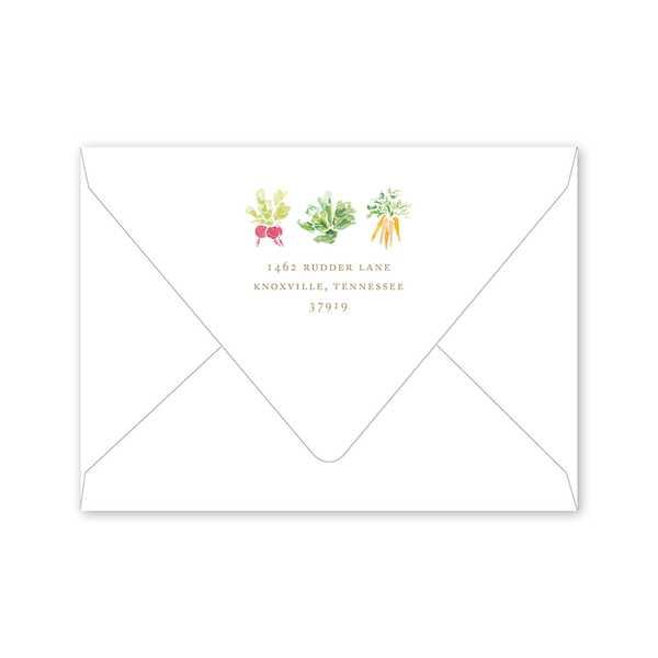 Garden Tales Trellis Birthday Envelopes