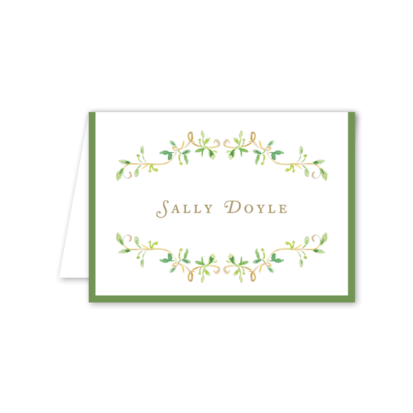 Garden Tales Vines Folded Notecard
