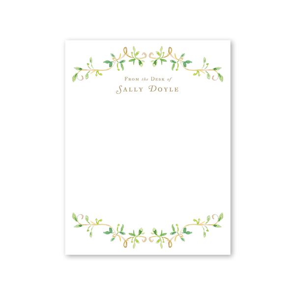 Garden Tales Vines Notepad