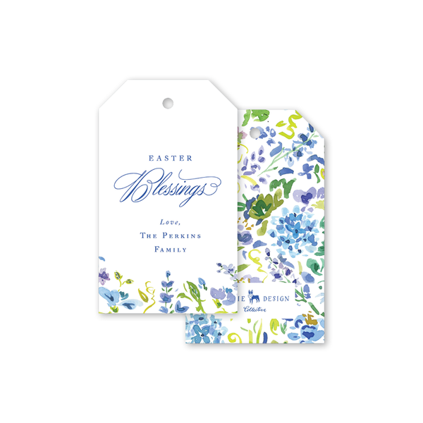 Hampton Hydrangea Easter Gift Tags