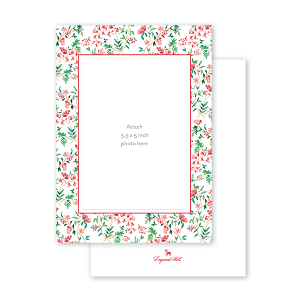 Holiday Chintz Border Photo Mount