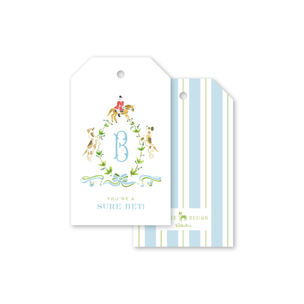 Tally-Ho Derby Sure Bet Gift Tags