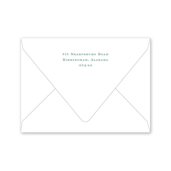 Antler Crest Notecard Envelopes