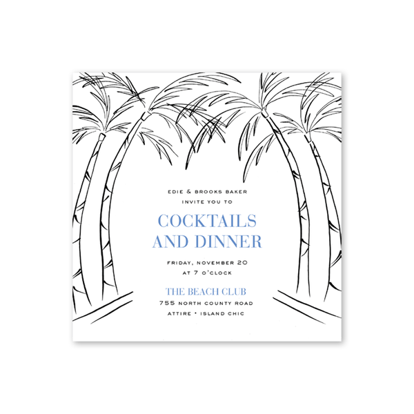 Palm Beach Chic Dinner/Party