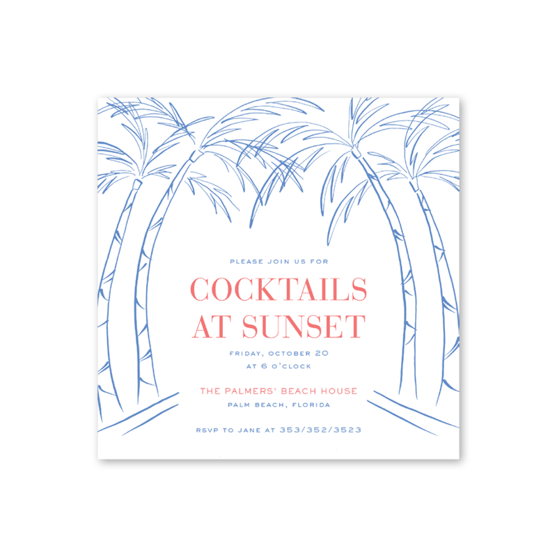Palm Beach Chic Summer Party