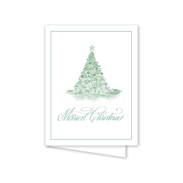 Christmas Toile Green Boxed Set