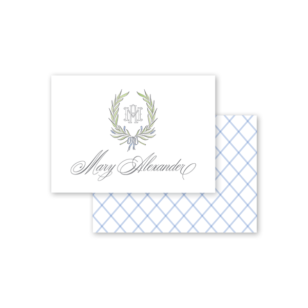Alexandra Wreath Calling Card