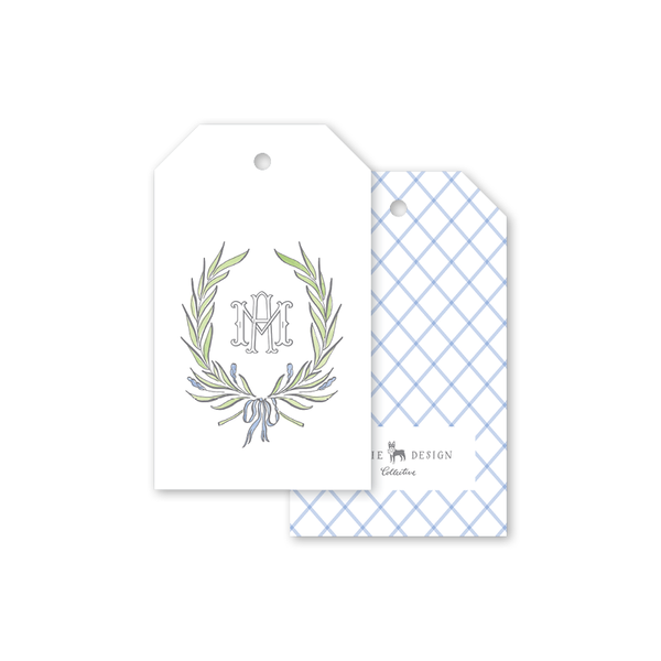 Alexandra Wreath Gift Tags