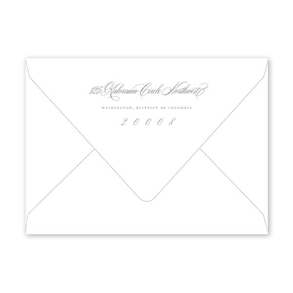 Alexandra Wreath Photo Graduation Envelopes