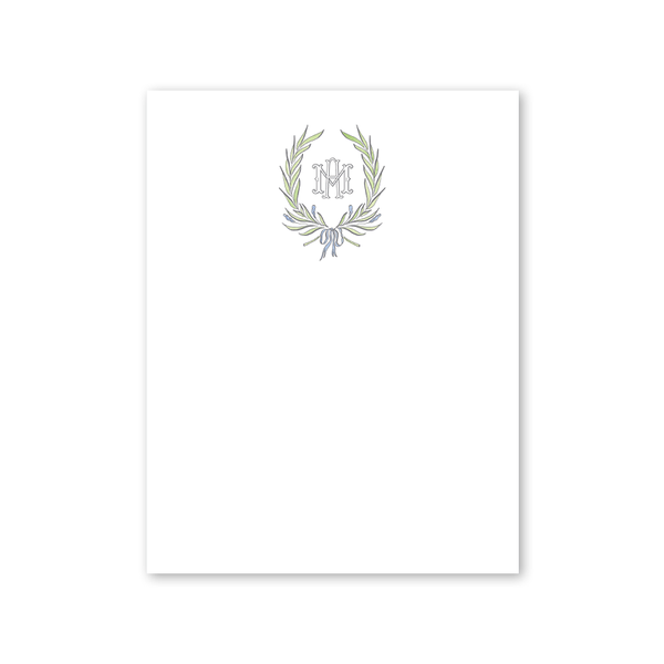 Alexandra Wreath Notepad