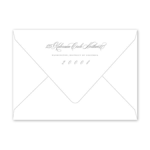 Alexandra Wreath Dinner/Party Envelopes