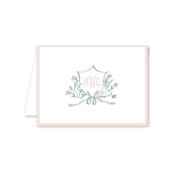 Avonlea Rose Folded Notecard