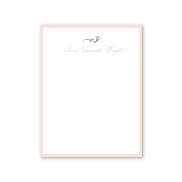 Avonlea Rose Notepad